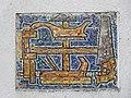 1210 Jedleseerstraße 79-95 Stg. 16 - Mosaik-Hauszeichen Tischlerwerkzeuge von Herbert Schütz 1955 IMG 0654.jpg