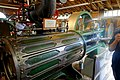 150 HP horizontal mill engine, Fitchburg Steam Engine Co., Fitchburg, MA, c. 1900 - Stationary steam engine collection - New England Wireless & Steam Museum - East Greenwich, RI - DSC06582.jpg