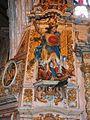 154Q.Lampaul-Guimiliau.Eglise.Saint Michel l'Archange terrassant le dragon.JPG