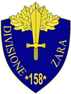 158th Infantry Division Zara division