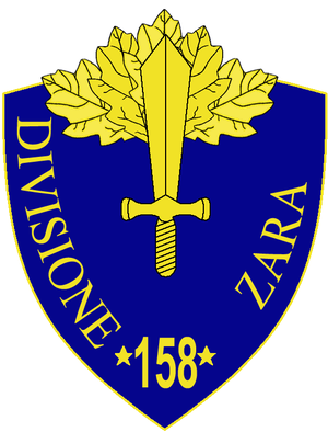 158th Infantry Division Zara - 158th Infantry Division Zara Insignia
