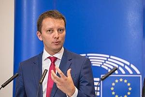 Siegfried Mureșan - Siegfried Mureșan presenting the draft EU Budget 2018