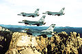 175th Fighter Squadron - 4 F-16 Formation over Mount Rushmore.jpg