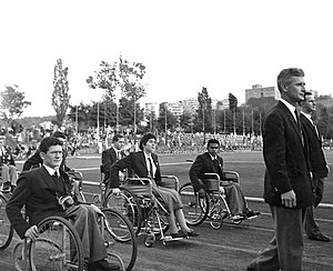 Australia at the 1960 Summer Paralympics - Australian Team at the Opening Ceremony