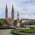 1815 – 1865, Wiesbaden, Luisenplatz – Obelisk to the 18 June 1815 Victory of Waterloo.jpg