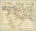 1836 Russian map of Turkey in Asia, Persia, Arabia and a part of Turkestan.jpg
