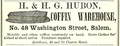 1857 Hubon Coffin Warehouse WashingtonSt SalemDirectory Massachusetts.png