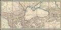 1860 map - Karte der europäischen Türkei und des Gebiets des Schwarzen Meeres, enthaltend einen grossen Theil Klein-Asiens, Süd-Russlands, einen Theil Persiens u. Kaukasien.jpg