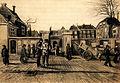 1882, Ingang van de Stadsbank van Lening te Den Haag. Vincent van Gogh.jpg