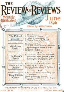 <i>Review of Reviews</i> Monthly magazines (London, New York, Melbourne) and their publishing companies (also three?), established 1890 to 1893 --scope of one Wikipedia article