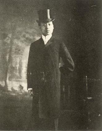 Syngman Rhee - Syngman Rhee in 1905 dressed to meet Theodore Roosevelt.