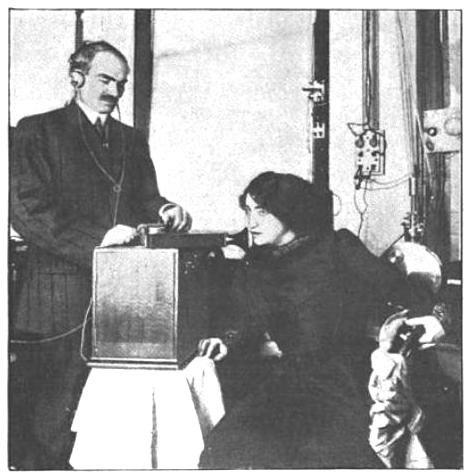 1910 Mariette Mazarin broadcast