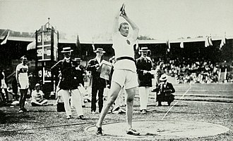 Athletics at the 1912 Summer Olympics – Men's discus throw - Image: 1912 Armas Taipale 2