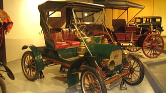 Brush Motor Car Company - Side view of museum model.