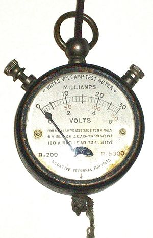 Multimeter - 1920s pocket multimeter