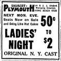 1922 Plymouth theatre BostonGlobe 28April.png