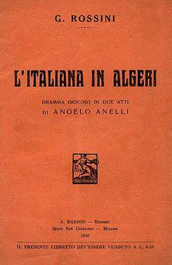 La Italiana En Argel Wikipedia La Enciclopedia Libre