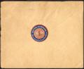 1935-01-24 Bankhaus D. Peretz Hannover Briefkuvert an S. Bleichröder Berlin, Revers mit Siegelmarke 1 Reichspfennig Winterhilfswerk Deutsches Reich.png