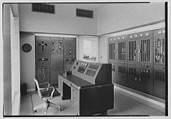 WIOD radio transmitter building, Miami Beach, Florida, 1941