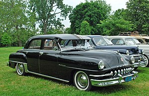 DeSoto Deluxe - Image: 1952 De Soto Deluxe