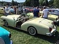 1954 Kaiser Darrin light yellow at 2015 Macungie show.jpg