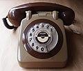 1979 TMA7214 706 Style Two Tone Grey Rotary Dial Telephone.JPG