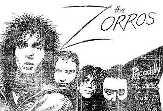 The Zorros - Nic Mark Tim Darren play King Cross.