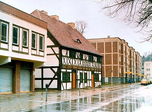 19860331250AR Bernau bei Berlin Altstadt Tuchmacherstraße 13