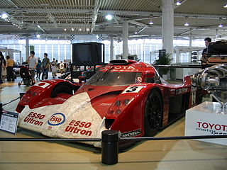 race car by Toyota