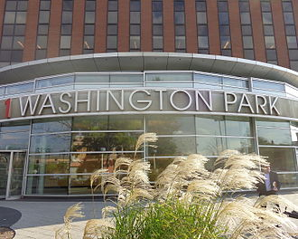 One Washington Park - Entrance at Broad Street