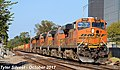 1 4 BNSF 7621 Leads WB 15,774 foot long Intermodal Olathe, KS 10-9-17 (37574626352).jpg