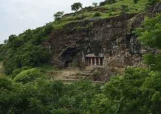 Aurangabad Caves - Image: 1 Aurangabad Buddhist Caves