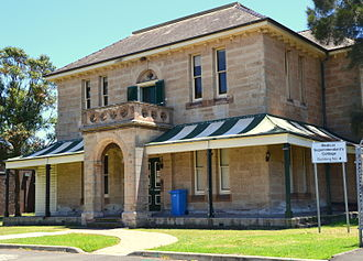 Randwick, New South Wales - Superintendent's Cottage, Prince of Wales Hospital