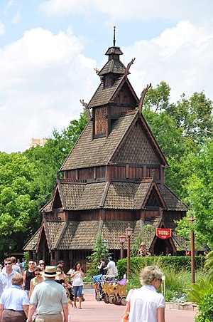 Norway Pavilion at Epcot - Image: 1 epcot norway 2010