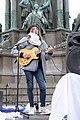 2-Meter-Abstand Demo für Kunst und Kultur Wien 2020-05-29 34 Harri Stojka.jpg