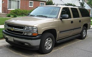 Passenger vehicles in the United States - Full-size SUVs such as the Chevrolet Suburban had an average sticker price of $42k, but were sold for an average 22% discount, bringing the net price down to $33k. Overall, large non-luxury SUVs featured the largest discounts in the SUV segment (Edmunds.com).