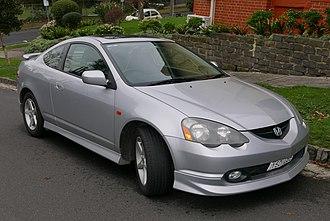 Honda Integra - Image: 2002 Honda Integra (DC5) Special Edition coupe (2015 07 24) 01