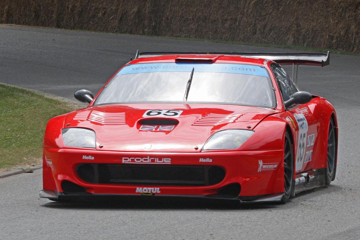 Gran Turismo 8 >> Ferrari 550 GTS Maranello – Wikipedia