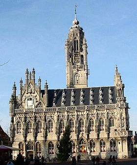 Gothic town hall