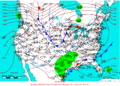 2006-01-22 Surface Weather Map NOAA.png