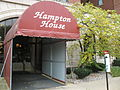 2006-10-22 Hampton House Entrance with HW Marker.JPG