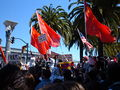2008 Olympic Torch Relay in SF - Justin Herman Plaza 21.JPG