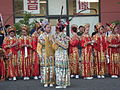 2008 Seattle Chinatown Seafair Parade - drill team stand in review 06.jpg