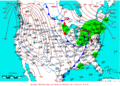 2009-01-18 Surface Weather Map NOAA.png