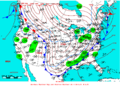 2009-01-24 Surface Weather Map NOAA.png