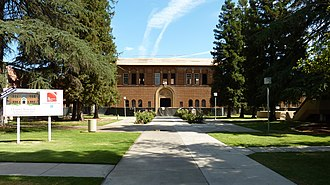 Fresno City College - The Old Administration Building is the oldest structure on the FCC campus.