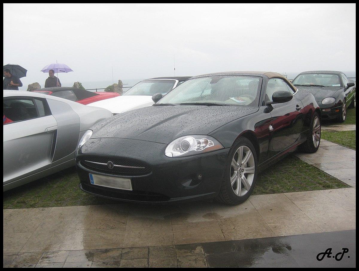 File:2009 Jaguar XK Cabrio (3948553646).jpg - Wikimedia ...