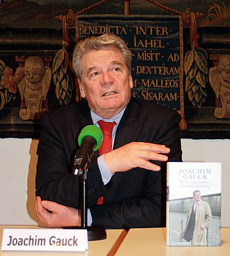 Centrism - In 1990, Joachim Gauck (who is former German president, centrist politician and activist without party affiliation) took part in the Alliance 90, having become an independent after its merger with The Greens