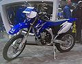 2010 Yamaha WR450F at 2009 Seattle International Motorcycle Show 1.jpg