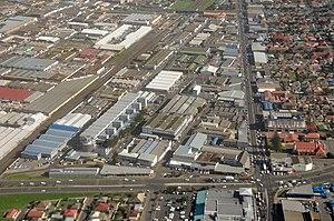 Parow, Cape Town - Aerial view of Parow
